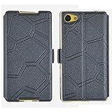 OnePlus X Hülle, IVSO Hohe Qualität Case Folio Tasche Cover, ist für OnePlus X Smartphone, Schwarz