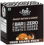 #1: EAT Anytime Chocolate Peanut Butter & Choco Bars - 228g (38g X 6 bars)