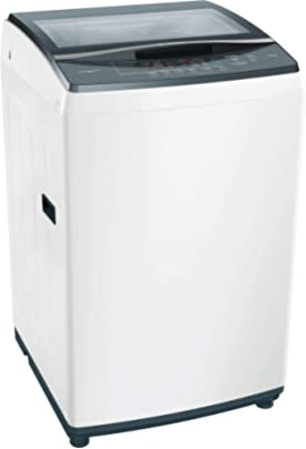 Bosch 7 kg Fully Automatic Top Load Washing Machine White  WOE704W0IN