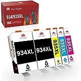 Toner Kingdom Sostituzione cartucce d'inchiostro compatibili per HP 934XL 935XL per HP Officejet Pro 6830 6820 6230 6812 6815