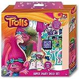 Trolls - Set diario para decorar en caja regalo (Factory 16235)