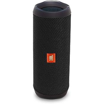 JBL Flip 4 Speaker Bluetooth Portatile Cassa Altoparlante Bluetooth Waterproof IPX7 con Microfono, JBL Connect+ e Bass Radiator, Compatibile con Siri e Google, fino a 12 h di Autonomia, Nero