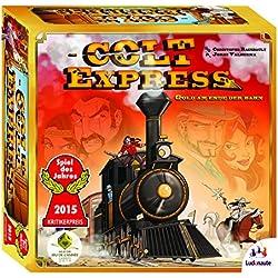 Ludonaute 217632 - Colt Express, Brettspiel, Spiel des Jahres 2015 Colt Express