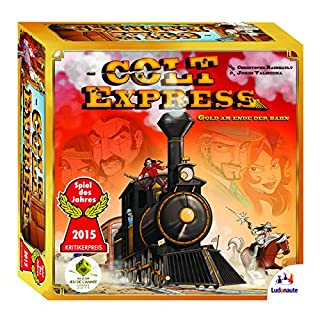 Ludonaute 217632 - Colt Express, Brettspiel, Spiel des Jahres 2015 (B00P0JE296) | Amazon price tracker / tracking, Amazon price history charts, Amazon price watches, Amazon price drop alerts