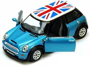 Kaizen Kinsmart Mini Cooper (Blue)