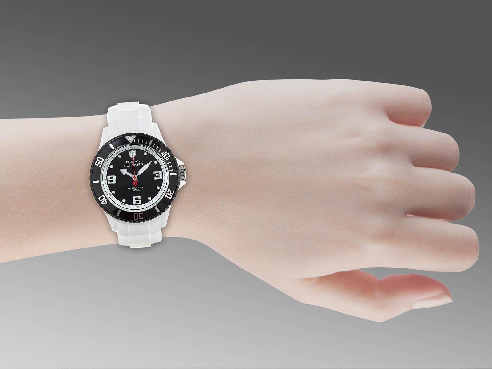 Detomaso DT3007-P – Reloj analógico de Cuarzo para Mujer con Correa