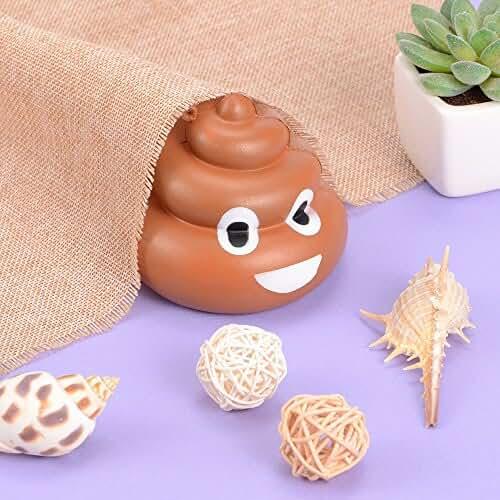 juguetes kawaii Poop Emoji Squishy Toys, Kawaii Squishies Slow Rising Cream Juguete perfumado para el alivio del estrés, Kids Adults Toys