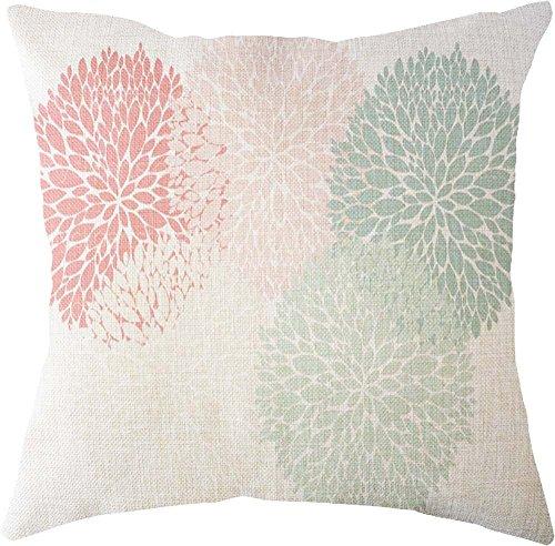 Harpily Blatt Square Leinen Deckel Werfen Koffer Sofa Hause Dekorative Kissenbezüge Pillowcase Kissen,45x45 CM
