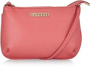 Caprese Shyla Women's Sling Bag (Peach) ()