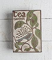 Store Indya, Boîte de Boîte à thé 6 compartiments Accessoires pour souvenirs Fournitures pour artisanat Outils Cuisine à la maison Collecte décorative