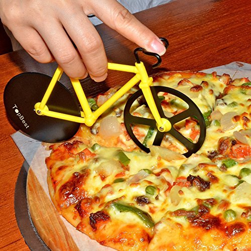 topbest-fahrrad-pizzaschneider-100-essen-grade-edelstahl-doppel-pizza-schneider