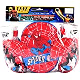IGP Sport Series Spiderman Theme Boxing Gloves And Punch Mitt Set For Kids Toys For Kids