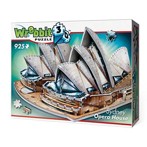 Wrebbit 3D W3D-2006 -  Sydney Opera House - 3D-Puzzle - Sydney Opera House