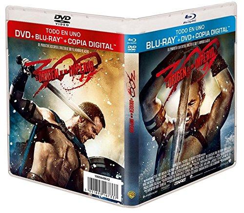300: El Origen De Un Imperio (DVD + BD + Copia Digital) [Blu-ray] 61DryA6WtBL