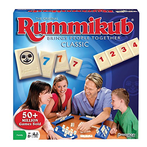 PRESSMAN - The Original Rummikub Fast Moving Rummy