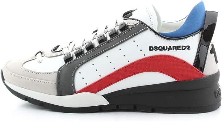 Dsquared2 Homme 551 Basket Bianco 45 EU: