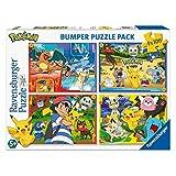 Ravensburger - puzzel 4 x 100 delen bumper pack, Pokémon (6929)