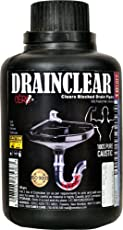 Cero Drainclear (Dry Powder) To Clear Clogged Drains, Sinks And Pipes (200G)
