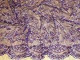 Perlen Zierrand Couture Brautschmuck Spitze Stoff