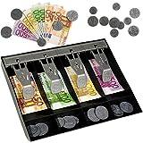 alles-meine GmbH Set - Spielgeld & Kassenschublade -  Euro - Scheine & Münzen  - 50 - 100 Not..