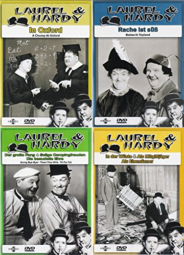 Laurel & Hardy - Collection 3 | In der Wüste | Der große Fang | Rache ist süß | In Oxford (4-DVD)