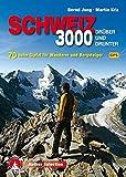 Dreitausender Schweiz - drüber und drunter: 70 hohe Gipfel für Wanderer und Bergsteiger. Mit GPS-Daten (Rother Selection) -