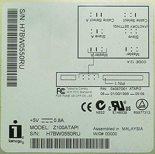 IDE ZIP-Diskettenlaufwerk Iomega Z100ATAPI beige ID11125 - 2