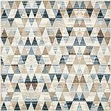 Unique Moderne geometrische druckknopfstiel von druckknopfstiel (6'x 6') quadratisch Mirage beige modernes Bereich Teppich