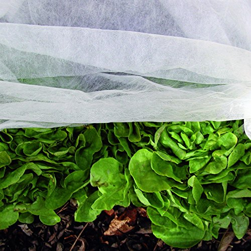 Noor Frost Protection Fleece Jacked Garden Cover, white, for sale  Delivered anywhere in UK