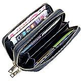 Un buon sostituto di una grande borsa.  Per molte donne sarebbe meglio portare solo un portafoglio invece di portarsi una borsa in giro, questo portafoglio capiente è la scelta migliore senza ombra di dubbio. È funzionale e ha molti spazi per...
