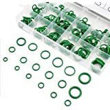 Kyuionty 270Pcs O-Rings Assortment Kit Metric HNBR Gasket 18 Sizes, Seal Grommets Set for A/C Automotive, Mechanic,Tools & Ho