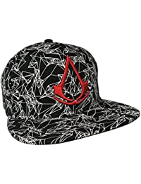 Assassin's Creed All Over Printed - Logo Casquette Snapback noir