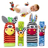 Best New Baby Toys - Baby Rattle Toys - Cute Animal Infant 4pcs Review