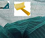 Stars Telo Rete Raccolta Olive antispina Pesante s/Spacco Angolo Rinforzato Occhiello Omaggio rastrello (mt 8x12)