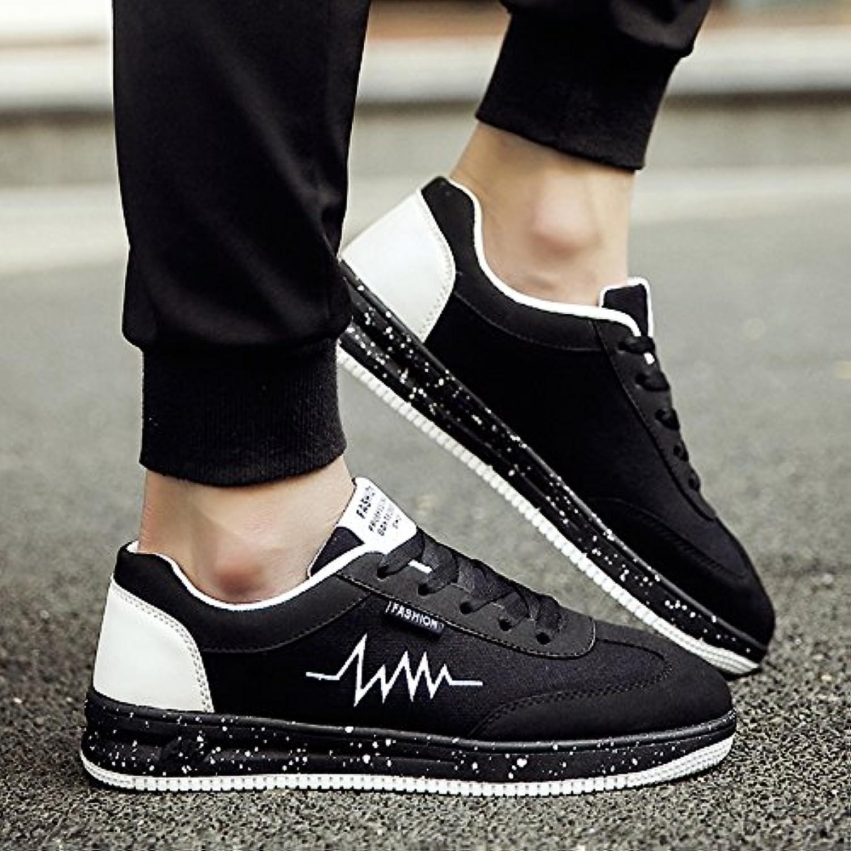 LVZAIXI Schuhe Stoffschuhe Jungs Freizeitschuhe Plate Schuhe Herrenschuhe Wilde Flut Schuhe gemütlich (Farbe :