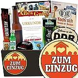 Zum Einzug | Geschenkset Männer | Geschenkset | Zum Einzug | Männer Paket | Geschenk zum Einzug für Männer | mit Get One Gurken Snack, Bier und mehr