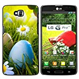 OB-star ( Búsqueda de huevos de Pascua ) LG G Pro Lite / D680 D682TR Impreso Colorido Protector...