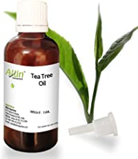 Allin Exporters Tea Tree Essential Oil for Face, Skin, Hair, Acne and Dandruff (15ml)