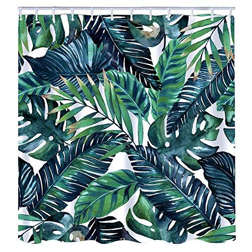 Litthing Duschvorhang Grüne Pflanze - 16,99 €