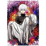 zhongjiany Tokyo Ghoul Kaneki Anime Poster 24x36