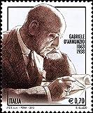 LaVecchiaScatola.com 2013 Anniversario Gabriele d'Annunzio MNH/**