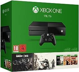 Xbox One 1TB Konsole - Bundle inkl. Rainbow Six Siege, Rainbow Six Vegas und Rainbow Six Vegas 2