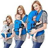 Porte Bébé Dorsal Multifonctionnel Confortable Respirable Réglable Porte-bébé pour Nouveau-nés Nourrissons Tout-petits