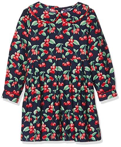 Rachel Riley Cherry Flannel Dress, Vestito Bambina,
