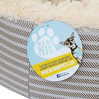 Me & My Super Soft Doughnut Pet Bed For Cats Puppies & Small Dogs from Me & My Pets