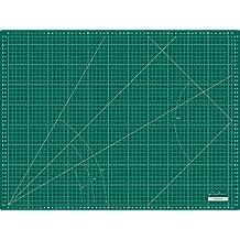 Base de corte grande 60x45 cm ( A2 ) milimetrada en CENTÍMETROS y PULGADAS, auto cicatrizante de alta calidad- Kadusi