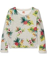 Unbekannt Mädchen Sweatshirt C-Neck Sweater Carmel