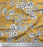 Soimoi mit Blumenmustern 42 Zoll breit Viscose Chiffon-