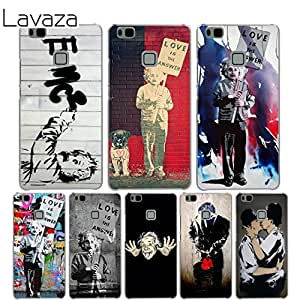 Lavaza Banksy Albert Case for Huawei Mate 10 9 P20 P10: Amazon.in ...