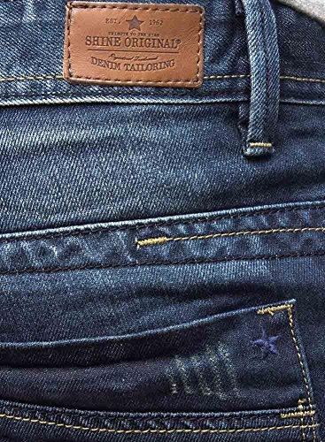 Short en jean 2-55011 Juicy Blue SHINE Bleu